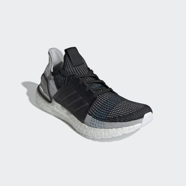 pretty nice 51e1f 0f6d9 Ultraboost 19 Shoes Core Black   Grey Six   Shock Cyan F35242