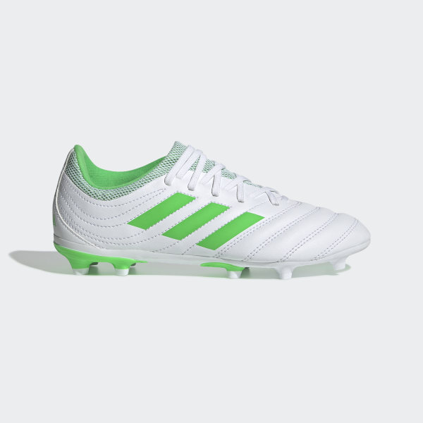 13123a6f7 Copa 19.3 Firm Ground Cleats Cloud White   Solar Lime   Cloud White D98081