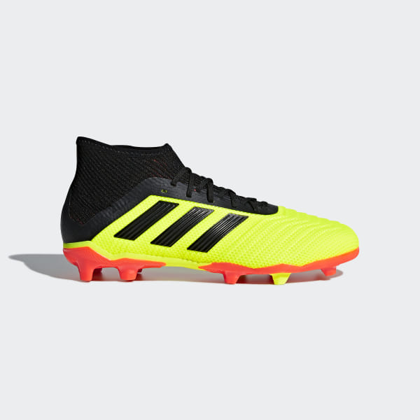 Adidas Herre Nemeziz 18.1 Firm Ground Støvler Orange Fodbold