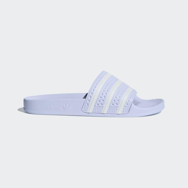 d472cb86ee9 Adilette Slippers Aero Blue / Ftwr White / Aero Blue AQ1068