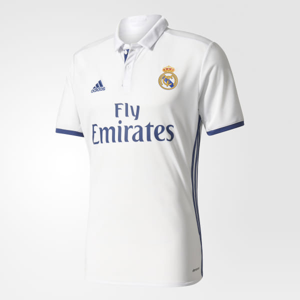 b181da2f8 Real Madrid Home Jersey Crystal White / Raw Purple S94992