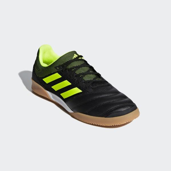 028038a241 Copa 19.3 Indoor Sala Shoes Core Black / Solar Yellow / Gum M1 BB8093