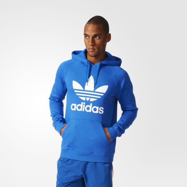 Comfortably Adidas Originals Hoodie Zip Up Trefoil