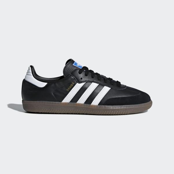 88e2297e2 Samba OG Shoes Core Black / Cloud White / Gum BD7686