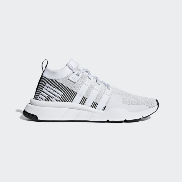 the best attitude 9204d cfc01 adidas EQT Support Mid ADV Primeknit Shoes - White | adidas US