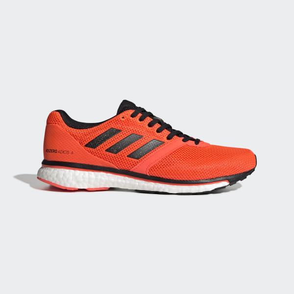 buy online 53b63 9b60e adidas Adizero Adios 4 Shoes - Orange | adidas Belgium