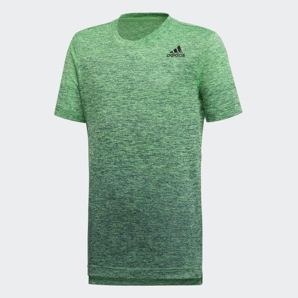 Adidas Hommes Samba Climalite T Shirt vert