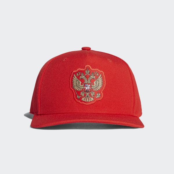 sale retailer 62fa7 1c43c Gorra Visera Plana Selección de Rusia Local RED WHITE CF4990