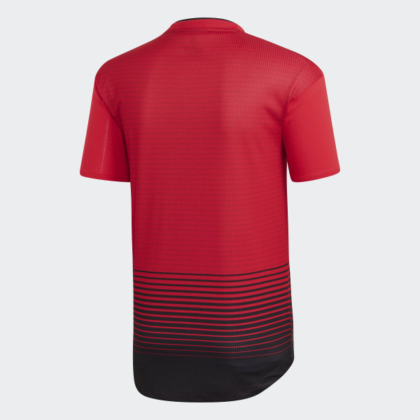 7a911d0a adidas Manchester United Home Authentic Jersey - Red | adidas UK