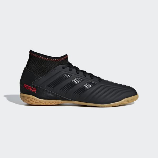 55d1e35a0 Predator Tango 19.3 Indoor Boots Core Black   Core Black   Active Red D98015