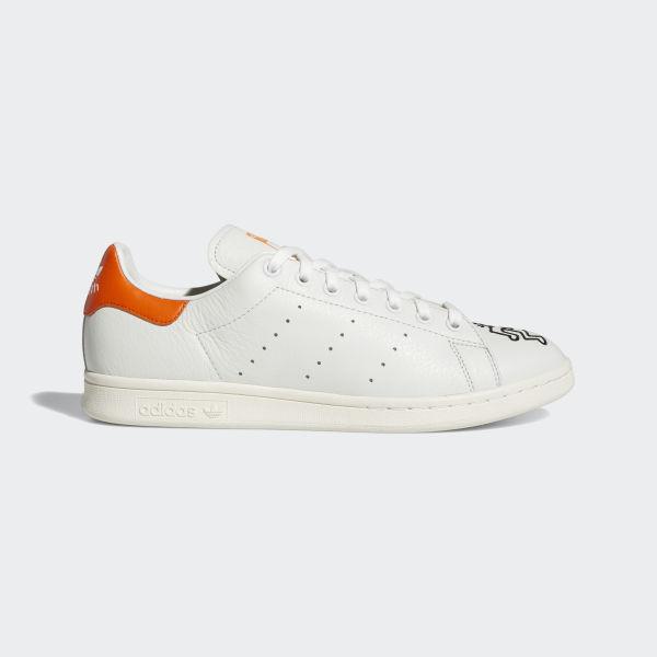 adidas Stan Smith blanche et orange femme Chaussures