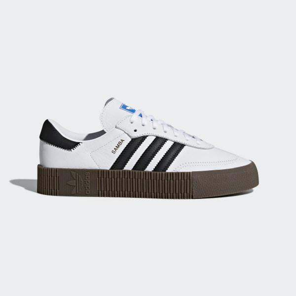 2f26d74e2 adidas Tenis SAMBAROSE - Blanco
