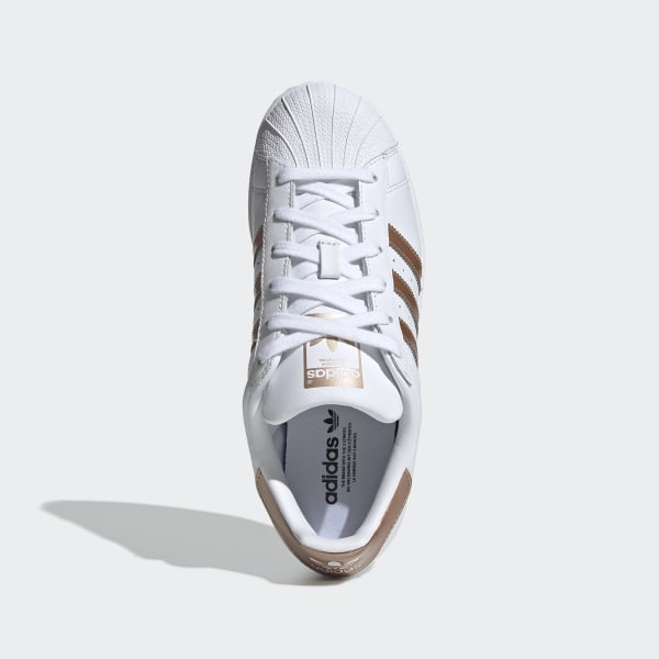 Superstar Shoes Cloud White / Copper Metalic / Core Black EE7399