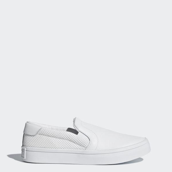 adidas Femmes Court Vantage Slip on Shoes White   adidas Canada