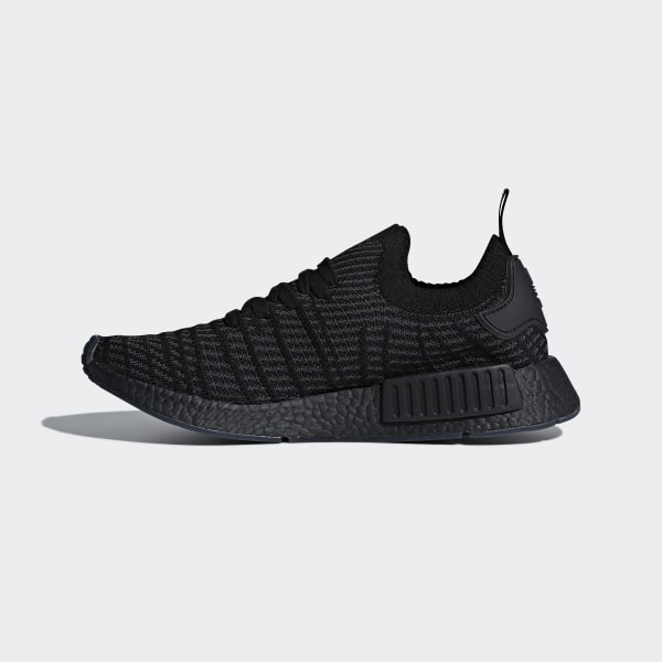 finest selection a150a 4a227 adidas NMD_R1 STLT Primeknit Shoes - Black | adidas UK