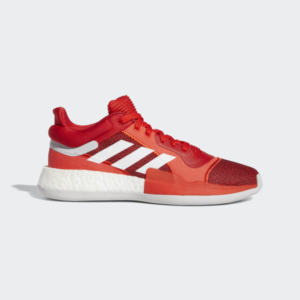 adidas Marquee Boost Low Shoes Red | adidas Belgium