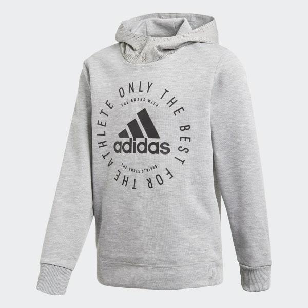 e269a3bf0 adidas Sweat-shirt à capuche Sport ID - gris   adidas Canada