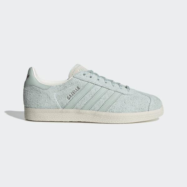 a9f36fa39428c Sapatos Gazelle Vapour Green / Vapour Green / Chalk White EE5548
