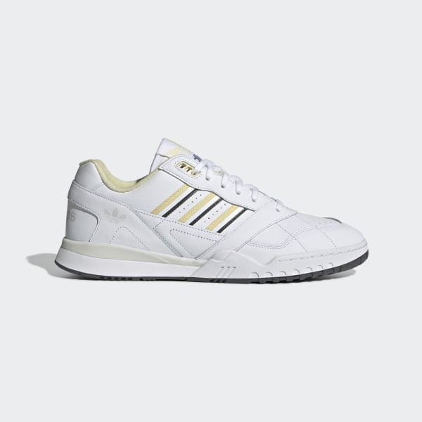 An On Feet Look At The adidas A.R. Trainer White Easy Yellow
