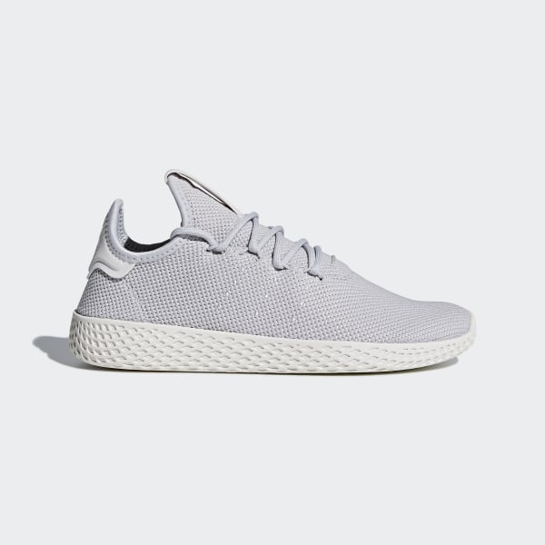 new concept 06caf 587c5 Pharrell Williams Tennis Hu Shoes Light Solid Grey   Light Solid Grey    Chalk White DB2553