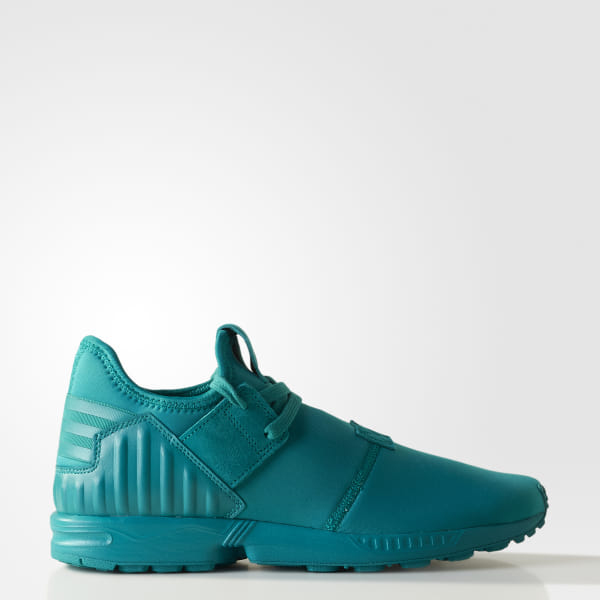 best service ae453 b08ef adidas Men's ZX Flux Plus Shoes - Turquoise | adidas Canada