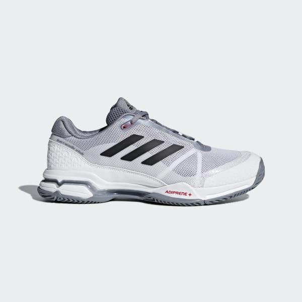 best service 759fc 6afdc Barricade Club Shoes Grey   Ftwr White   Core Black CM7782