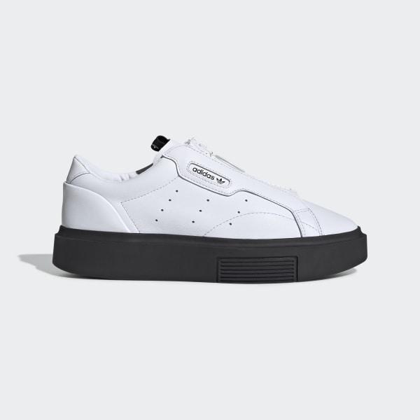 adidas Sleek Super Zip Schoenen Ftwr White / Ftwr White / Core Black EF1899