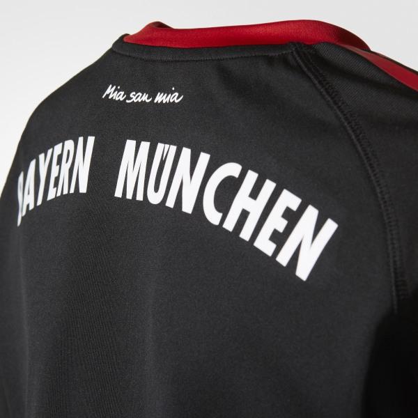 0fa5c163c FC Bayern Munich Replica Goalkeeper Jersey Black / Fcb True Red / White  AZ7945