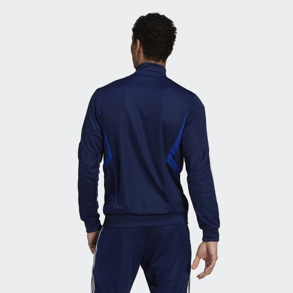 c0c34c7697c Tiro 19 Training Jacket Dark Blue / Bold Blue / White DT5272