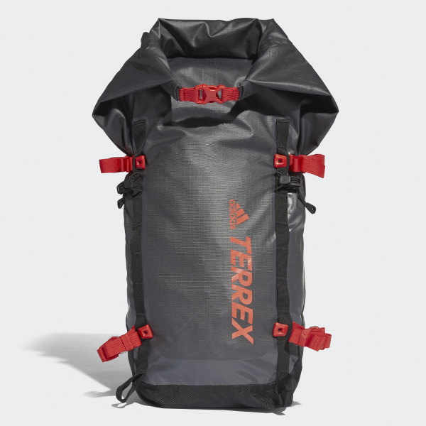 f659bc35db4cd Terrex Solo Lightweight Rucksack Carbon   Black   Hi-Res Red CF4915