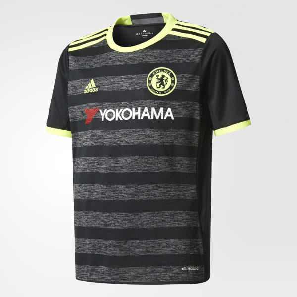 1caf03713b6 Chelsea FC Away Jersey Black / Solar Yellow / Granite AI7134