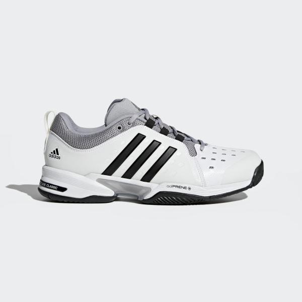 newest 6b4ca 8eca6 Barricade Classic Wide 4E Shoes Cloud White   Core Black   Mid Grey BY2920