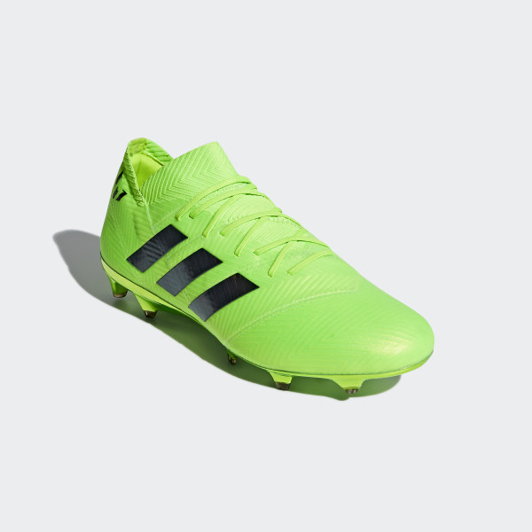 da47e7061 Nemeziz Messi 18.1 Firm Ground Boots Solar Green / Core Black / Solar Green  DA9586