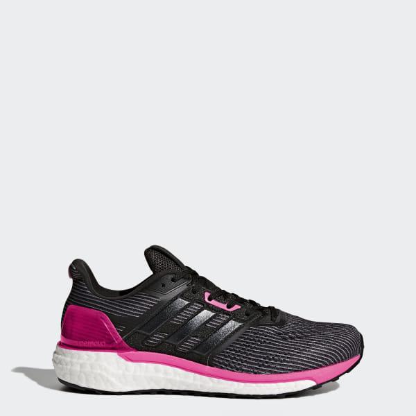 new arrival 9a939 d5ceb Supernova Glide 9 Shoes Utility Black   Core Black   Shock Pink BB3483