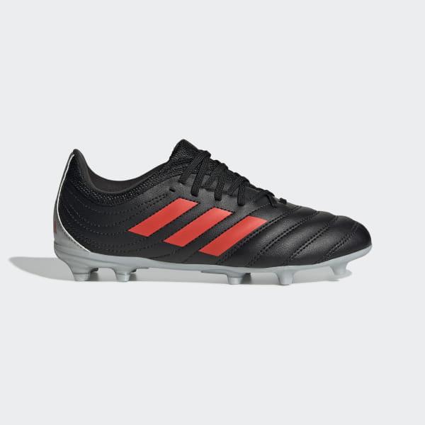 1db05983 Футбольные бутсы Copa 19.3 FG core black / hi-res red s18 / silver met