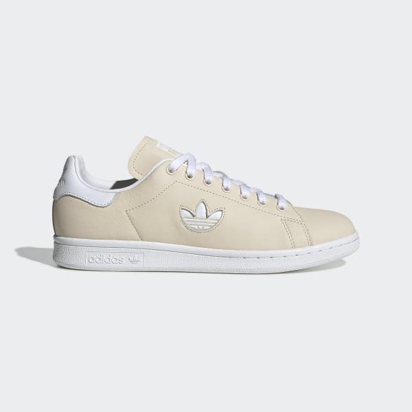 finest selection cbc26 9ebeb adidas Stan Smith Shoes - Beige | adidas UK