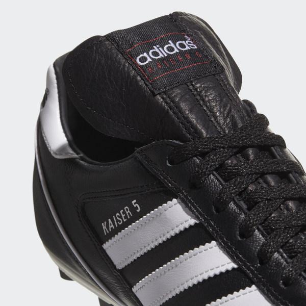 best value f5b68 ae970 Kaiser 5 Liga Boots Black   Footwear White   Red 033201