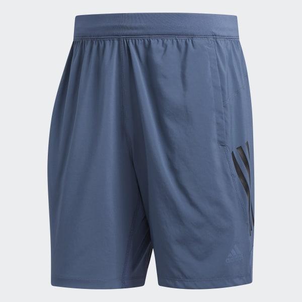 802ab17869 adidas 4KRFT Tech Woven 3-Stripes Shorts - Blue   adidas US