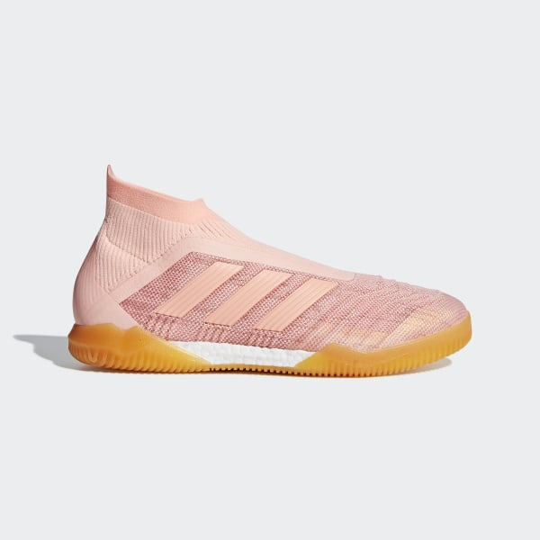 5d01a51e134 Predator Tango 18+ Indoor Boots Clear Orange   Clear Orange   Trace Pink  DB2055