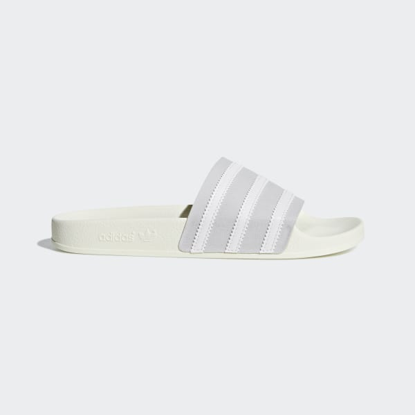 056299240b5 Adilette Badslippers Grey Two / Ftwr White / Off White CG6435