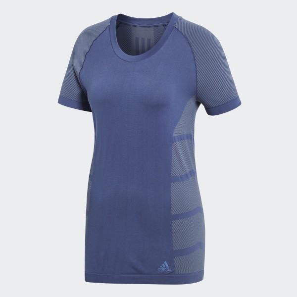 4cc15cb6e1 adidas Primeknit Cru T-Shirt - Blue   adidas UK