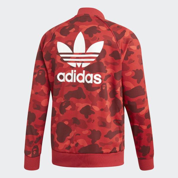 f892a5e748 adidas BAPE x adidas Track Top - Red | adidas US