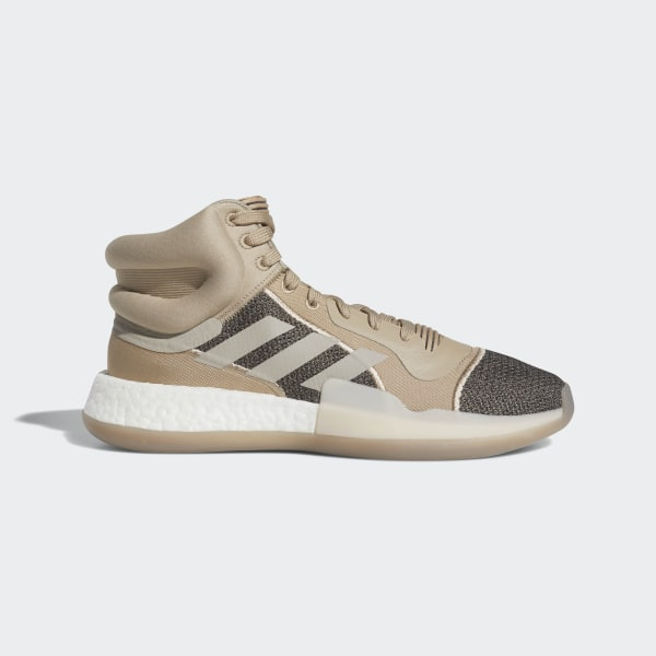 adidas Marquee Boost Shoes Brown | adidas UK
