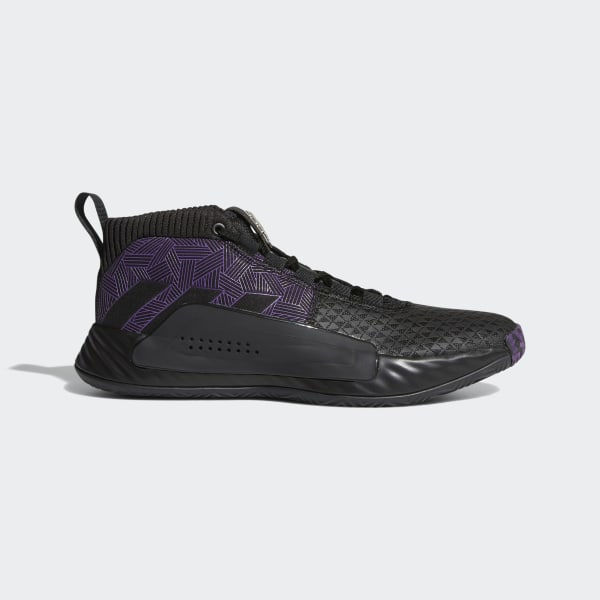 1f79819fa22 Marvel's Black Panther | Dame 5 Shoes Core Black / Active Purple / Silver  Metallic EF2259