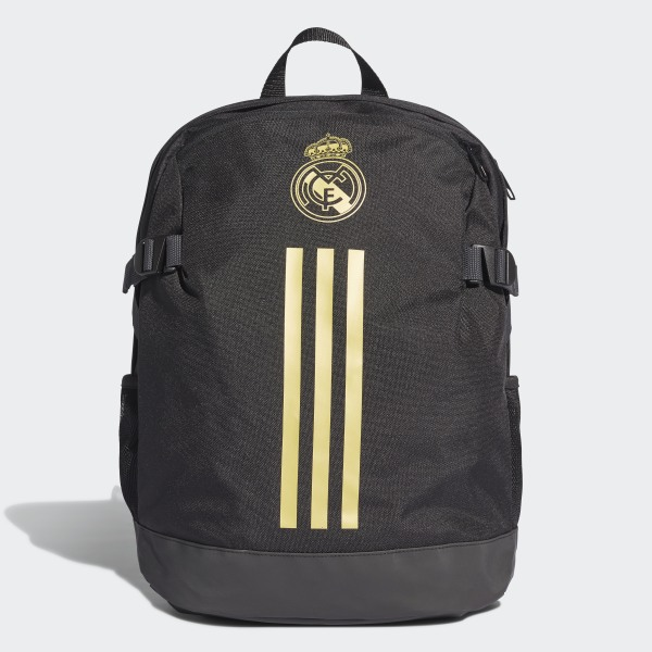 f6fc553a2 Real Madrid Backpack Black / Dark Football Gold DY7716