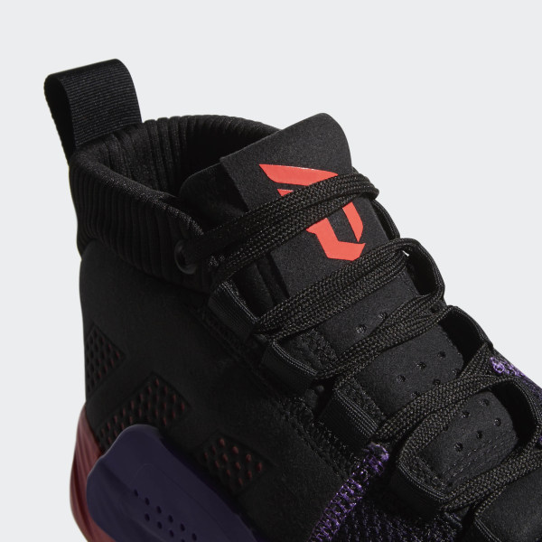 newest ae5af 12ec4 Dame 5 Shoes Core Black   Shock Red   Active Purple BB9313