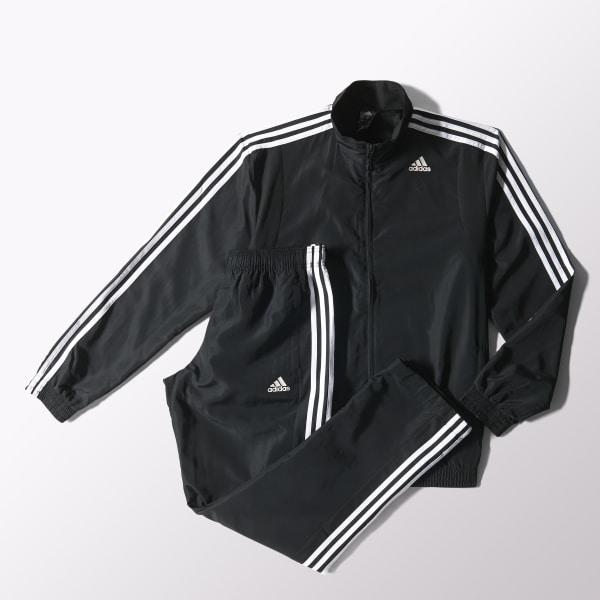 614883c9b adidas CONJUNTO DE TRAINING TS BASIC HOMBRE - Negro | adidas Argentina