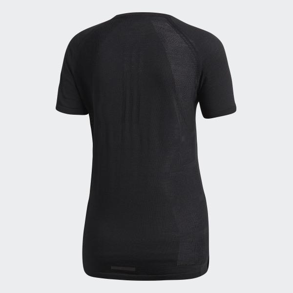 c737d7205a adidas Primeknit Wool Cru T-Shirt - Black   adidas UK