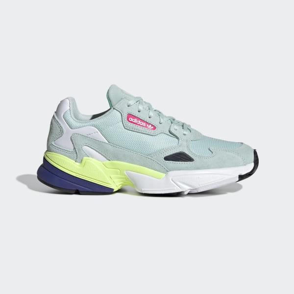 9d0ffaf6 Falcon Shoes Ice Mint / Ice Mint / Core Black CG6218