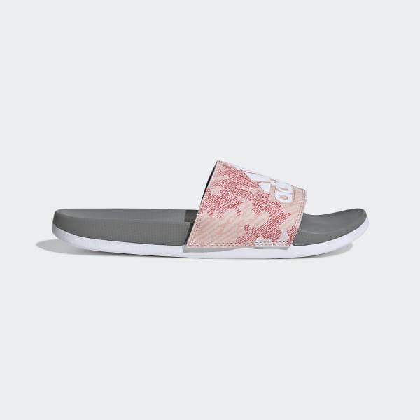 d4f802215 Adilette Comfort Slides Dust Pink / Ftwr White / Grey Three G28927